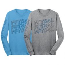 Futsal Outline, Long Sleeve Tee