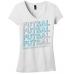 Futsal Outline V-Neck Tee